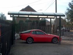 carport 5x3m b