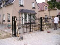 poorten hekken plaatsing poort hek Royal
